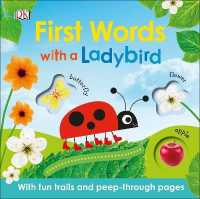 Link to an enlarged image of First Words with a Ladybird -- Board book