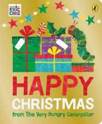 Link to an enlarged image of Happy Christmas from the Very Hungry Caterpillar -- Board book