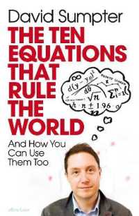 Link to an enlarged image of Ten Equations that Rule the World -- Paperback (English Language Edition)