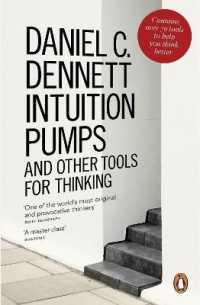 Link to an enlarged image of Intuition Pumps and Other Tools for Thinking -- Paperback / softback