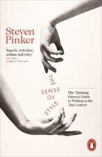 Link to an enlarged image of The Sense of Style: The Thinking Person's Guide to Writing in the 21st Century