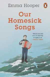Link to an enlarged image of Our Homesick Songs -- Paperback / softback