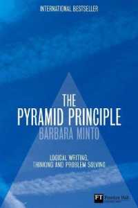 Link to an enlarged image of Pyramid Principle : Logic in Writing and Thinking (Financial Times Series) -- Hardback (3 Rev ed)