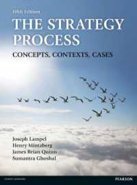 image of The Strategy Process : Concepts, Contexts, Cases (5th)