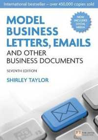 Link to an enlarged image of Model Business Letters, Emails and Other Business Documents (IE) (7th)