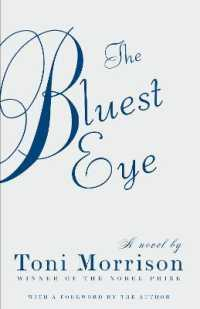 Link to an enlarged image of The Bluest Eye (Reprint)