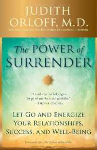 The Power of Surrender : Let Go and Ener... by Orloff, Judith, M.D.