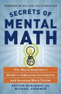 Link to an enlarged image of Secrets of Mental Math : The Mathemagician's Secrets of Lightning Calculation & Mental Math Tricks