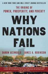 Link to an enlarged image of Why Nations Fail : The Origins of Power, Prosperity, and Poverty (Reprint)