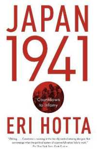 Link to an enlarged image of Japan 1941 : Countdown to Infamy (Reprint)