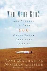Link to an enlarged image of Who Made God : And Answers to over 100 Other Tough Questions of Faith