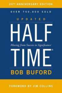 Link to an enlarged image of Halftime : Moving from Success to Significance -- Paperback / softback (Special ed)