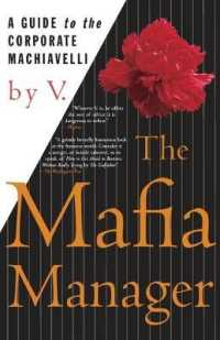 Link to an enlarged image of The Mafia Manager : A Guide to the Corporate Machiavelli
