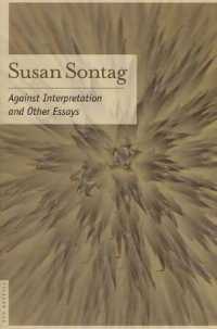 Link to an enlarged image of Against Interpretation : And Other Essays (Reprint)