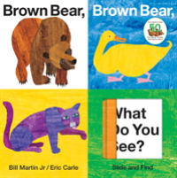 Link to an enlarged image of Brown Bear, Brown Bear, What Do You See? (ACT BRDBK)