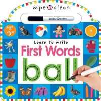 Wipe Clean First Words 9780312513931