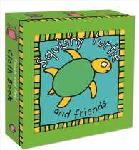 Link to an enlarged image of Squishy Turtle : And Friends (Touch and Feel Cloth Book) (BOX RAGBK)