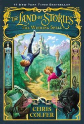 Link to an enlarged image of The Wishing Spell ( Land of Stories 1 )
