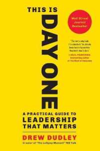 Link to an enlarged image of This Is Day One : A Practical Guide to Leadership That Matters