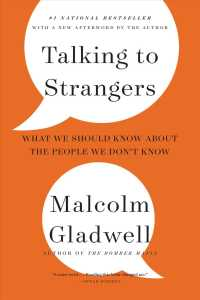 Link to an enlarged image of Talking to Strangers : What We Should Know about the People We Don't Know (Large Print)