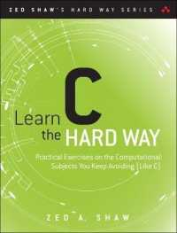 Link to an enlarged image of Learn C the Hard Way : Practical Exercises on the Computational Subjects You Keep Avoiding Like C (Zed Shaw's Hard Way) (Paperback + DVDR)