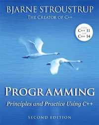 Link to an enlarged image of Programming : Principles and Practice Using C++ (2nd)