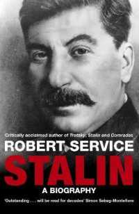 Link to an enlarged image of Stalin : A Biography