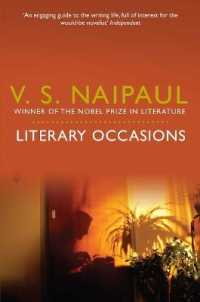 Link to an enlarged image of Literary Occasions: Essays