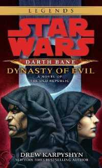 Link to an enlarged image of Star Wars: Darth Bane: Dynasty of Evil : A Novel of the Old Republic (Reprint)