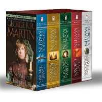 Link to an enlarged image of A Song of Ice and Fire Set (5-Volume Set) : A Game of Thrones / a Clash of Kings / a Storm of Swords / a Feast for Crows / a Dance with Dragons (BOX Media Tie In)