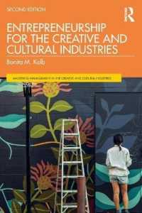 Link to an enlarged image of Entrepreneurship for the Creative and Cultural Industries (Mastering Management in the Creative and Cultural Industries) (2nd)