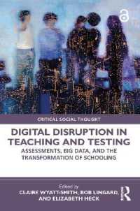 Digital Disruption in Teaching and Testing 9780367493325