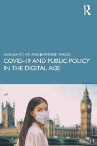 COVID-19 and Public Policy in the Digital Age 9780367560232