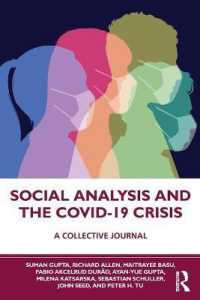 Social Analysis and the COVID-19 Crisis 9780367636616
