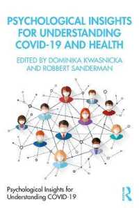 Psychological Insights for Understanding Covid-19 and Health 9780367689650
