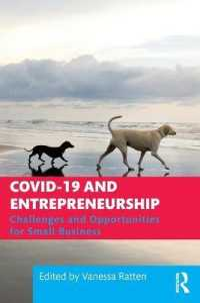 COVID-19 and Entrepreneurship 9780367710873