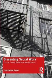 Dissenting Social Work 9780367903701