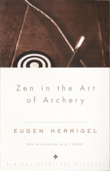 Link to an enlarged image of Zen in the Art of Archery