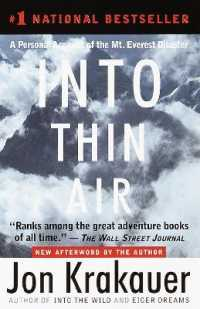 Link to an enlarged image of Into Thin Air : A Personal Account of the Mt. Everest Disaster (Reprint)