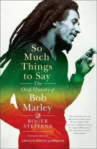 Link to an enlarged image of So Much Things to Say : The Oral History of Bob Marley