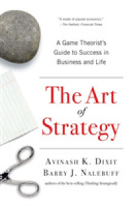 Link to an enlarged image of The Art of Strategy : A Game Theorist's Guide to Success in Business and Life