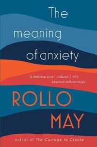Link to an enlarged image of The Meaning of Anxiety (Reissue)