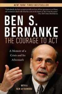 Link to an enlarged image of The Courage to Act : A Memoir of a Crisis and Its Aftermath (Reprint)