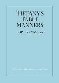 Link to an enlarged image of Tiffany's Table Manners for Teenagers