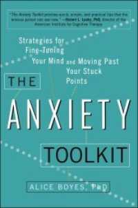 Link to an enlarged image of The Anxiety Toolkit : Strategies for Fine-Tuning Your Mind and Moving Past Your Stuck Points
