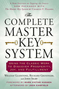 Link to an enlarged image of The Complete Master Key System : Using the Classic Work to Discover Prosperity, Joy, and Fulfillment (Reprint)