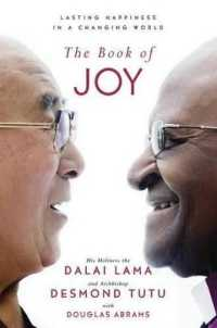 Link to an enlarged image of The Book of Joy : Lasting Happiness in a Changing World