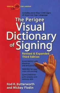 Link to an enlarged image of The Perigee Visual Dictionary of Signing : An A-To-Z Guide to over 1,350 Signs of American Sign Language (Revised Subsequent)