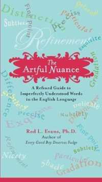 Link to an enlarged image of The Artful Nuance : A Refined Guide to Imperfectly Understood Words Int He English Language (Original)