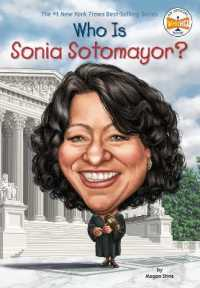 Link to an enlarged image of Who Is Sonia Sotomayor? (Who Was...?) (DGS)
